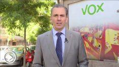 El candidato de Vox a la alcaldía de Madrid, Javier Ortega Smith.