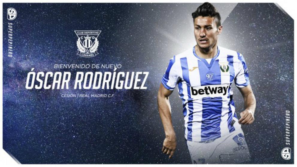 Óscar Rodríguez (CD Leganés)