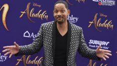 Will Smith emociona en el estreno de Aladdin
