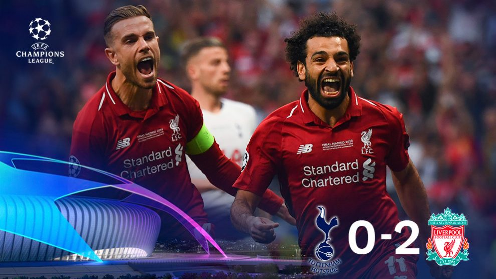 El Liverpool ganó al Tottenham en la final de la Champions.