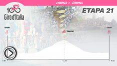 Etapa 21 del Giro de Italia, hoy domingo 1 de junio.