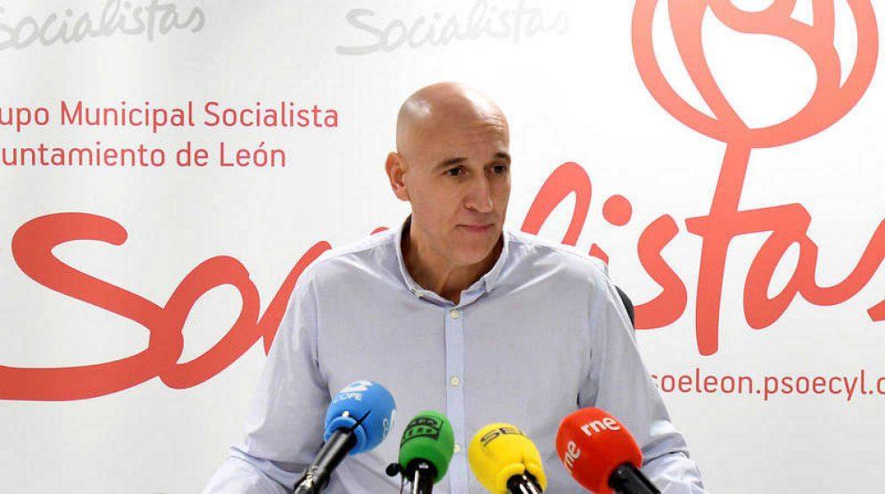 José Antonio Díez, candidato del PSOE al Ayuntamiento de León @EFE