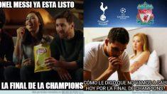 Los mejores memes de la final de la Champions League Tottenham – Liverpool.