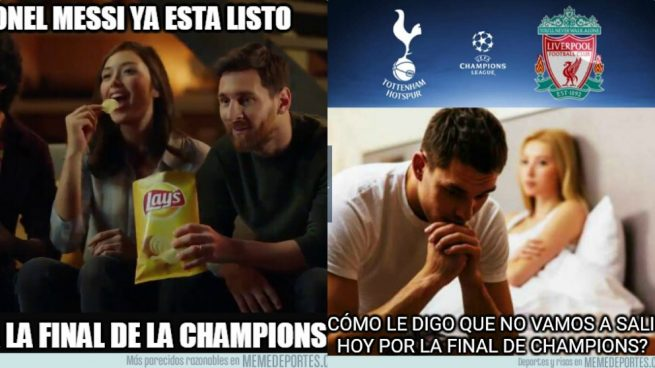Memes Tottenham Liverpool