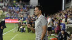 Míchel, entrenador del Huesca (Sociedad Deportiva Huesca)