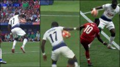 Así fue el polémico penalti que pitó Skomina al Tottenham.