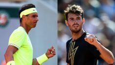 Rafael Nadal y Juan Ignacio Londero.