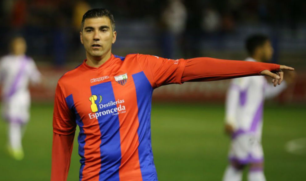 José Antonio Reyes, en un partido con el Extremadura.