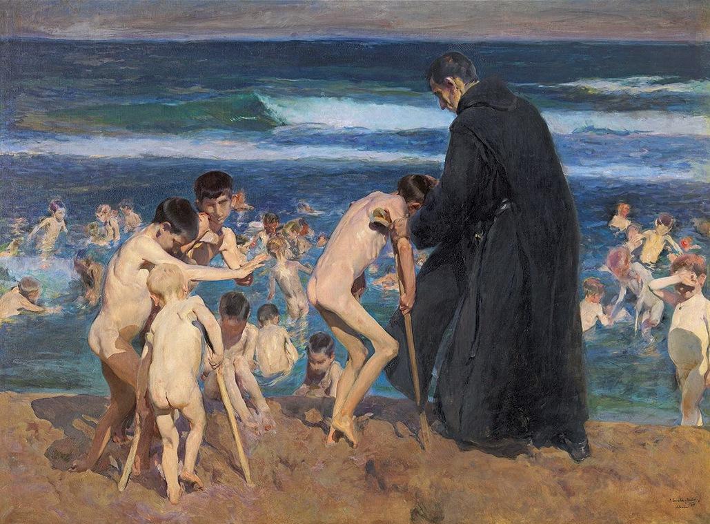 ¡Triste Herencia! de Joaquín Sorolla que se expuso en la Exposición Universal de París de 1900 @Getty