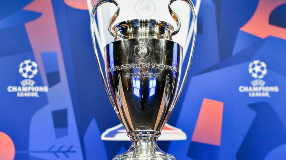 El trofeo emblemático de la Champions League.