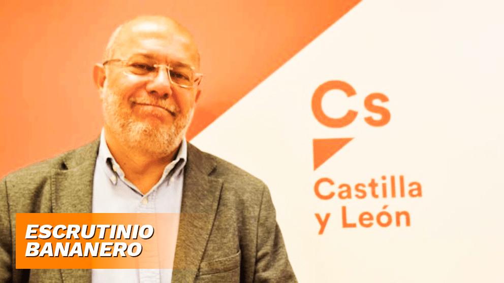 El líder de Ciudadanos en Castilla y León.