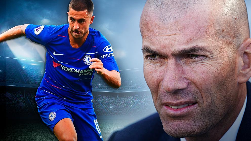 Zidane tiene un plan para Hazard.