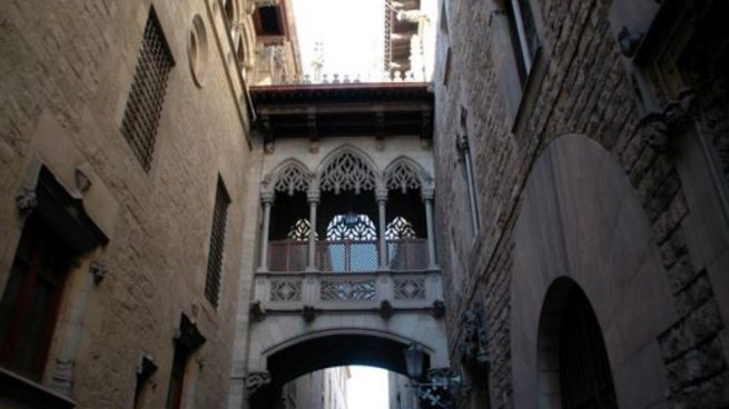 barrio gótico barcelonés