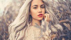 Cómo cuidar el cabello teñido de gris paso a paso