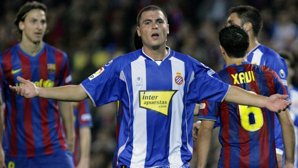 Javi Chica, exjugador del Espanyol (AFP)