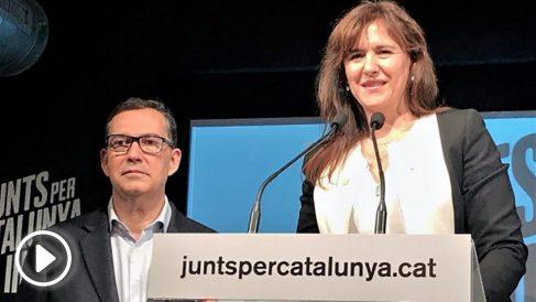 Laura Borrás, candidata de JxCat a las elecciones generales. Foto. EP