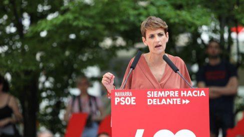 María Chivite, del PSN.