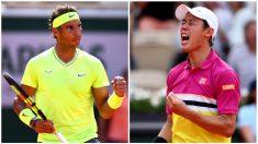 Nadal y Nishikori: Partido de hoy de Roland Garros, en directo