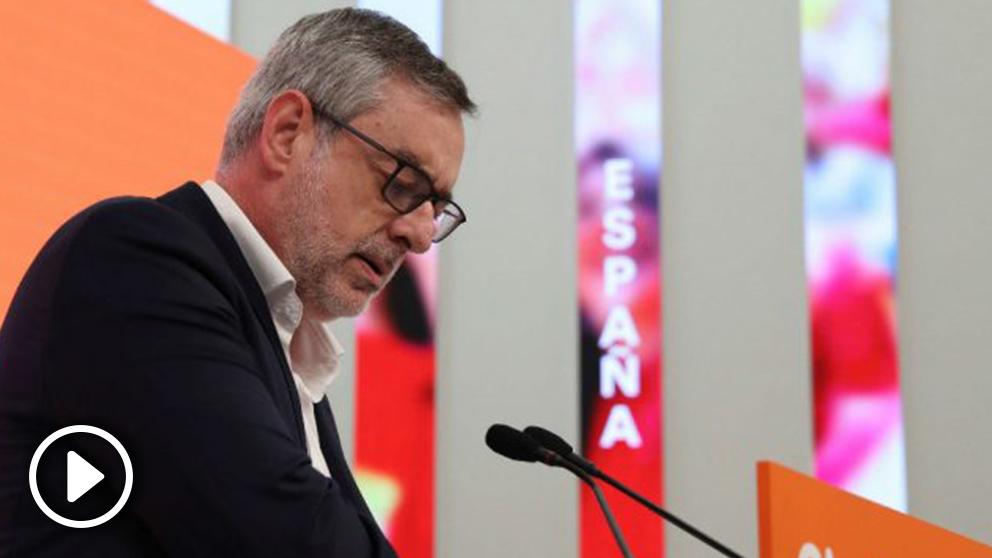 José Manuel Villegas en la rueda de prensa ofrecida este lunes