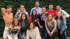 Borja Fernández durante la famosa barbacoa. (Instagram)