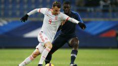 Borja Mayoral con la selección española Sub-21 (AFP)