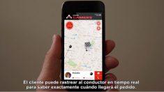 Vídeo que Bringg tiene en su web para clientes españoles