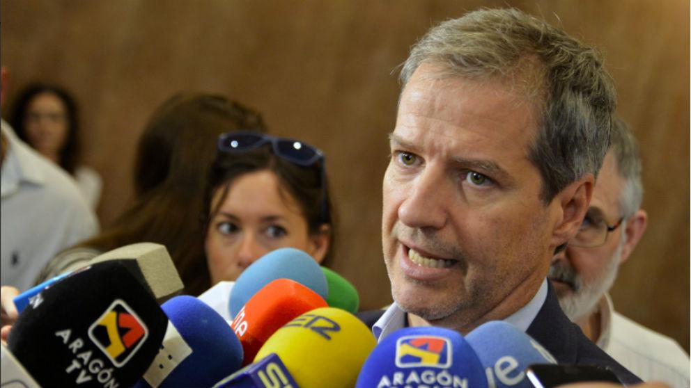 Daniel Pérez, líder de C's en Aragón. (Foto: C's Aragón)