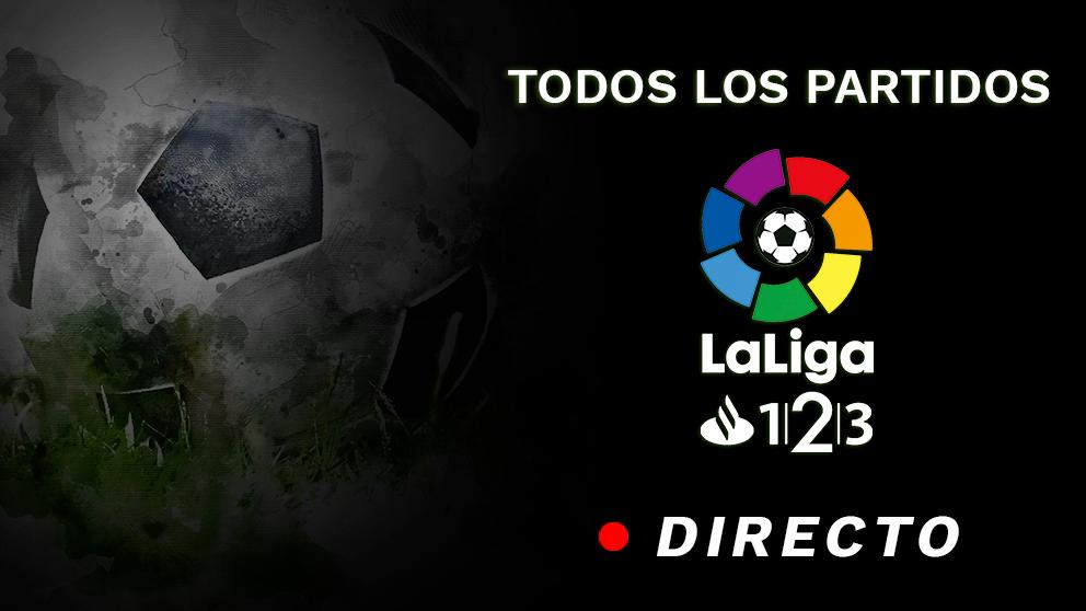 Liga 123: Sigue en directo los partidos de hoy de Segunda División