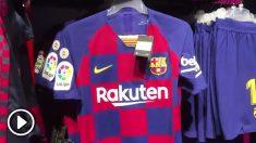 La camiseta de la discordia del Barça tiene un precio poco adecuado.