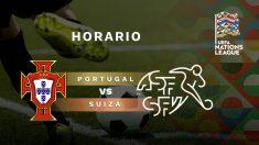 Portugal – Suiza: semifinal de la Liga de las Naciones.