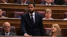 Ignacio Garriga en el Congreso. (Foto. Vox)