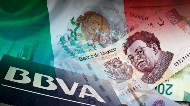BBVA reacciona ante la crisis en México y se cubre al 75% del peso azteca