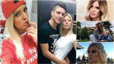 Jovic y su pareja Andjela Manitasevic.