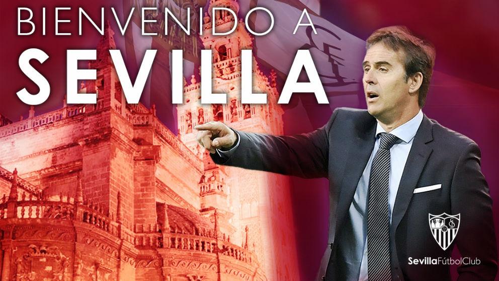 Julen Lopetegui, nuevo entrenador del Sevilla. (Sevilla FC)