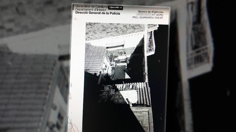 El ático donde asesinaron a Janet Jumillas.