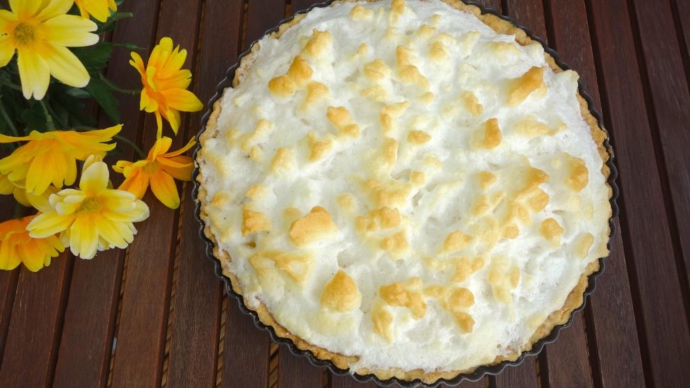 Receta de Tarta de piña y merengue horneada