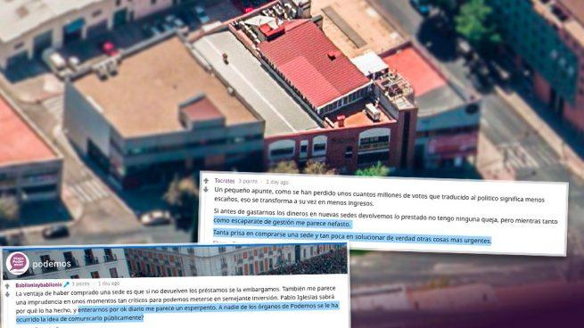 Comentarios en Plaza Podemos.