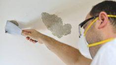 Cómo decapar la pintura del techo paso a paso
