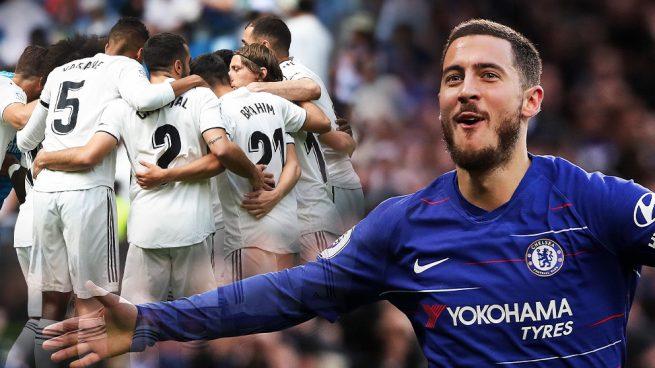 Confidencial: el vestuario del Real Madrid recibe a Hazard «con los brazos abiertos»