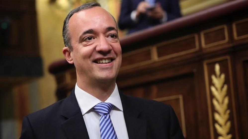 Francisco Martínez en el Congreso. (Foto. PP)