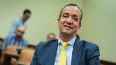Francisco Martínez en una comisión en el Congreso. (Foto. PP)