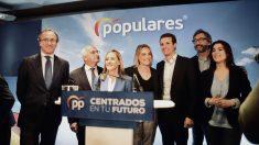 Pablo Casado, líder del PP, en la campaña electoral @Getty