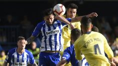 Guillermo Maripán en un partido con el Villarreal (AFP)