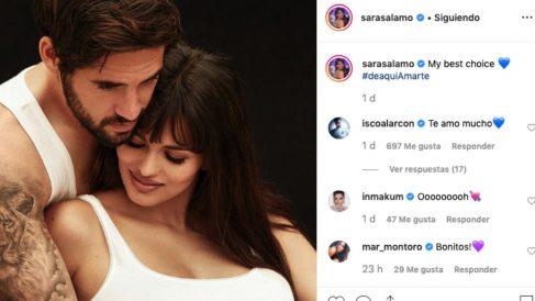 Isco y Sara Sálamo se intercambian mensajes en Instagram. (Instagram)
