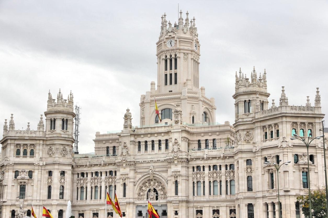 Ayuntamiento de Madrid @Istock
