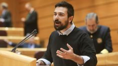 Ramón Espinar en una intervención en el Senado.