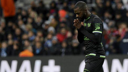 El futbolista Yannis Salibur, detenido en Palma. (AFP)