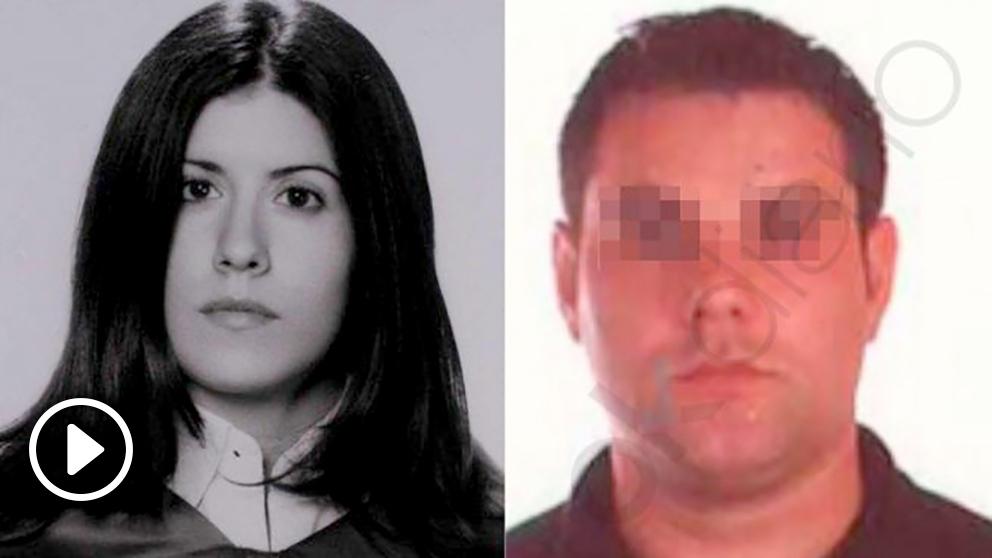 Sheila Barrero y su presunto asesino, Borja V.G.