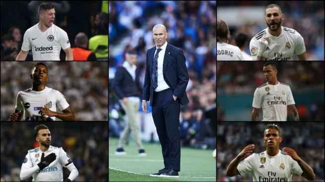 A Zidane le sobran nueves