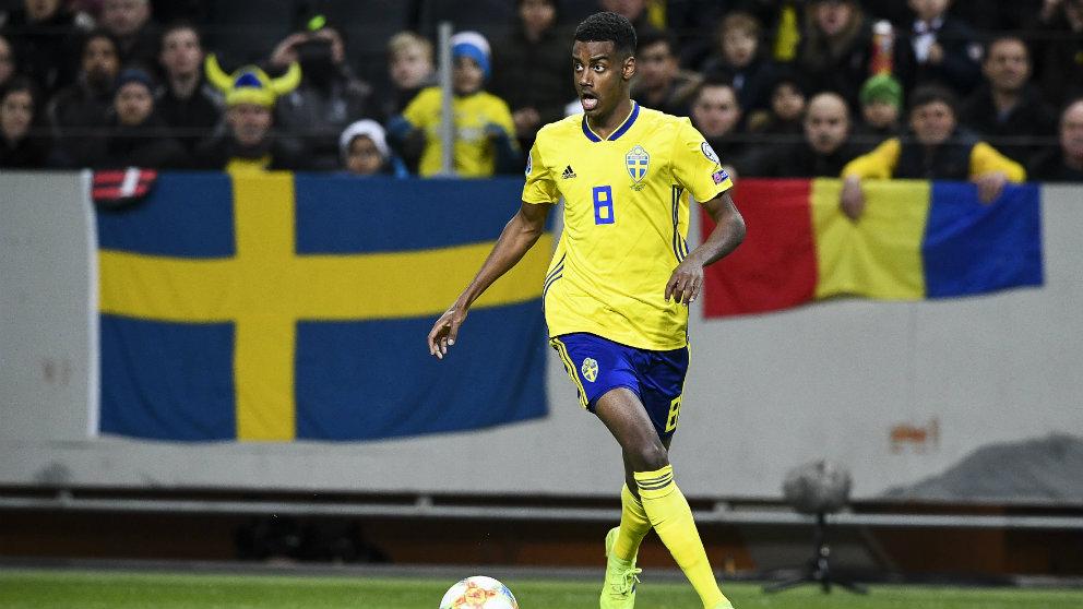 Alexander Isak con Suecia (EFE)